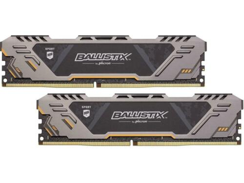 2 x 8GB 288-Pin DDR4 SDRAM DDR4 2666 Deskt PC4 21300 Ballistix Sport AT 16GB