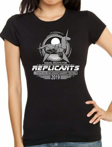 BLADERUNNER Tyrell Corporation Equal Rights For Replicants T-shirt