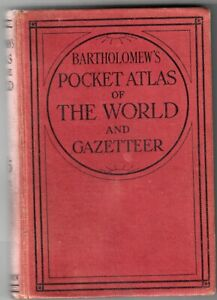 BOOK-BARTHOLOMEWS-POCKET-ATLAS-OF-THE-WORLD-MILITARY-CONNECTION