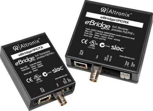 Altronix IP//Coax W//Poe//Poe Trscr Use