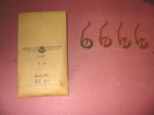 4 each,1938, 39, 40, 41,42 , Ford, Mercury Car Door Lock Latch Repair Springs,