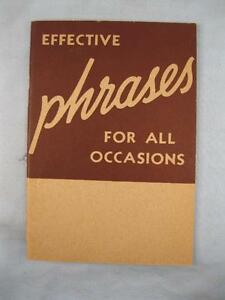 Effective-Phrases-For-All-Occasions-Vintage-Book-1939-Lee-Elton-Reader-Mail-O