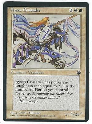 1x Aysen Crusader NM-Mint English Homelands MTG Magic