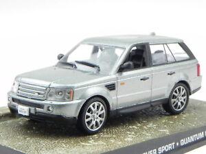 Rastar 1:43 Range Rover Sport Modelauto silbern