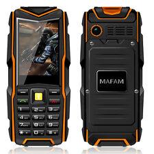 MAFAM F8 IP67 waterproof 8800mAh dual card call recorder phone P128 discovery