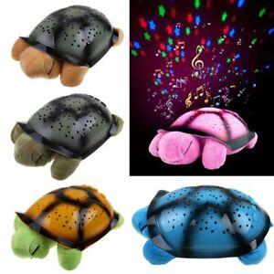 Turtle-Night-Light-Star-Sky-Projection-Lamp-Musical-LED-Baby-Kids-Sleep-Toys