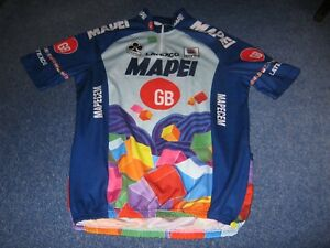 964481f4a Image is loading Mapei-GB-Colnago-Sportful-Italian-cycling-jersey-XL-