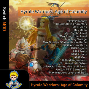 Hyrule-Warriors-Age-of-Calamity-Switch-Mod-Max-Hearts-Money-Items-Weapons