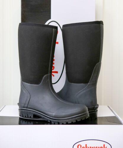NIB Sz 11 US SCHMUCK 100/% Water Proof High Top CHORE HUNTING WORK Boot BLACK