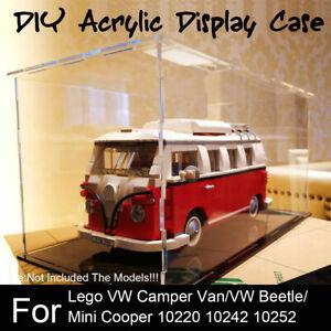 Acrylic Display Case For Lego Vw Camper Van Mini Cooper