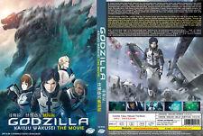Eng Dub Anime DVD Godzilla Kessen Kidou Zoushoku Toshi The Movie 2 Ship