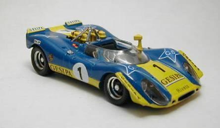 PORSCHE 908/2  1 WINNER 6h Jarama 1970 Alex SOLER ROIG/Neuhaus 1:43 Model