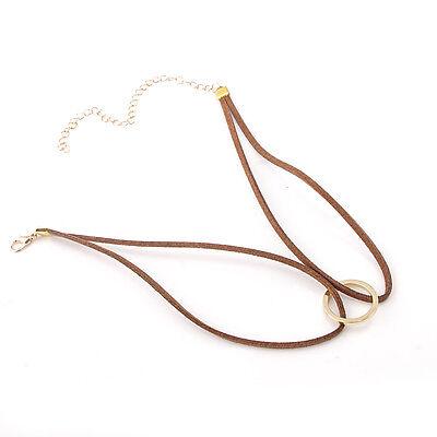 Women Black Lace Choker Punk Gothic Vintage Velvet Leather Necklace Jewelry