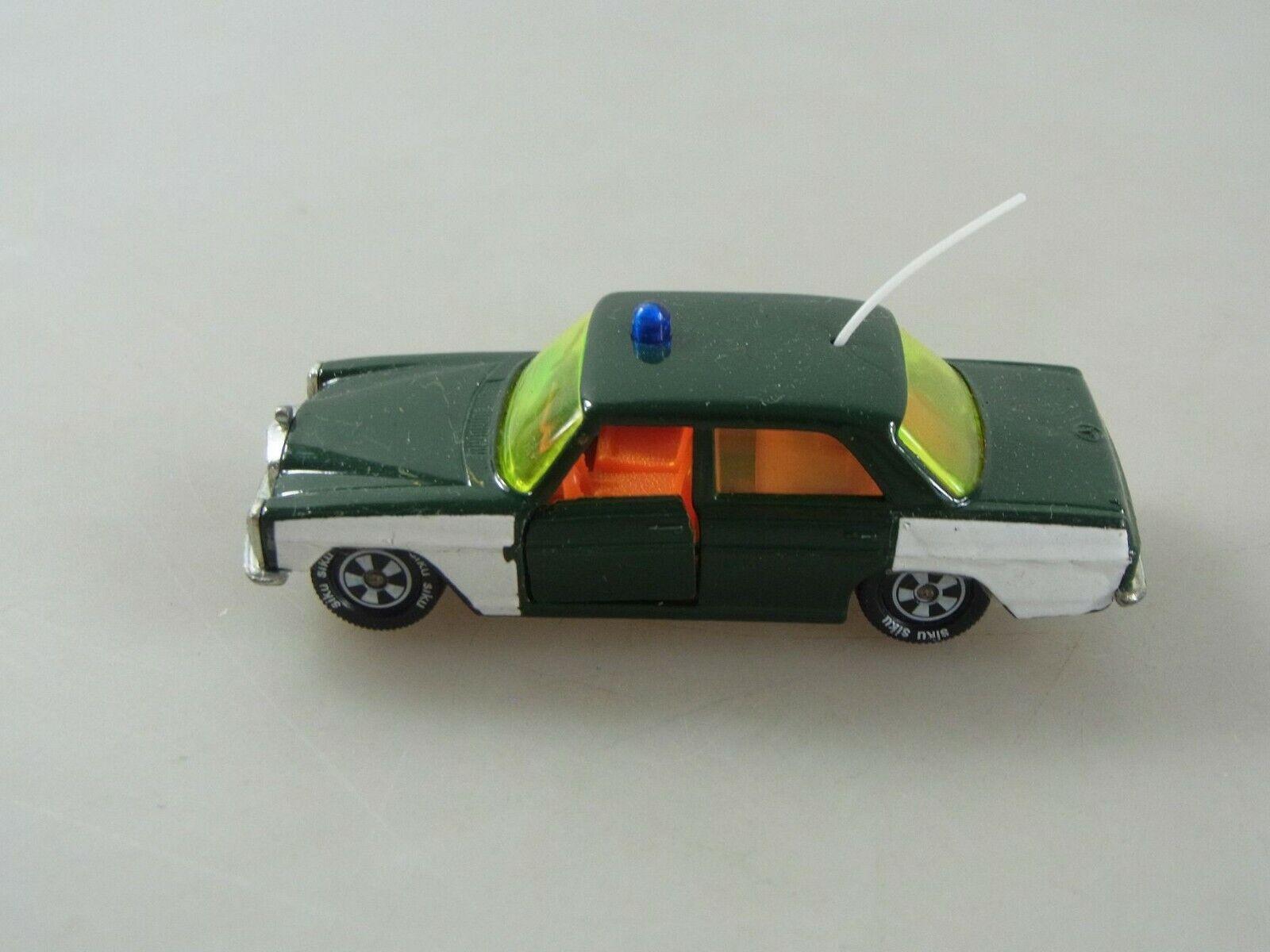 Vintage Modellauto Mercedes Benz 250 V309 Polizei Siku K020619E0