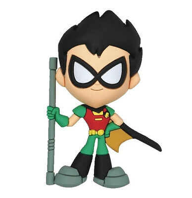 DC TEEN TITANS GO TO THE MOVIES 3D Figural Keyring Series 2 ROBIN KEYCHAIN