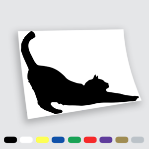 Adesivi-Murali-Adesivo-in-vinile-Gatto-cat-Wall-Stickers-da-parete-auto-pc