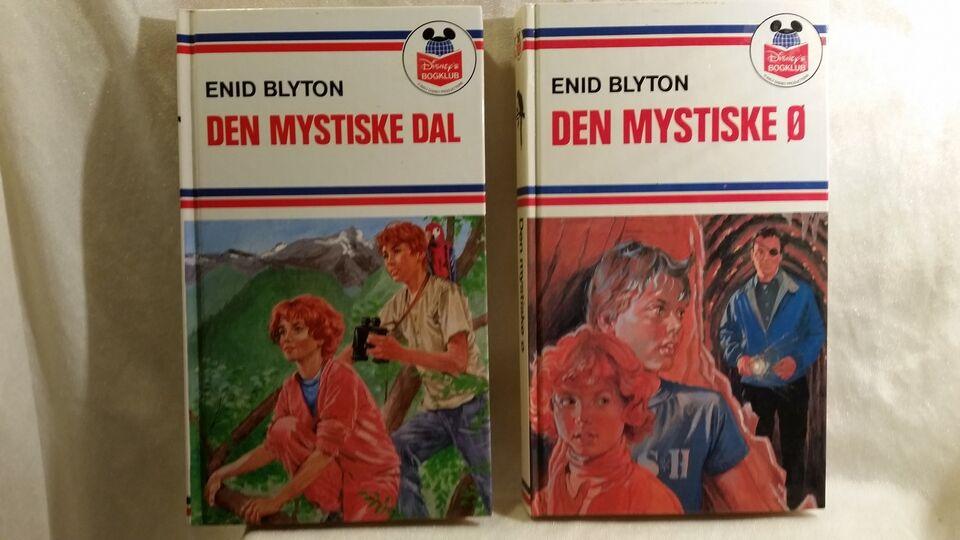 Den mystiske dal + Den mystiske ø, Enid Blyton