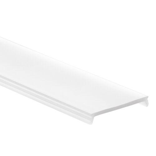 PN4 Cursa C1 Weiß Aluminium Profil f LED Streifen 2m Abdeckung Opal