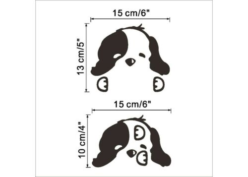 Cute Puppy Cartoon Switch Wall Vinyl Decals Home Decor animal Removable stickers