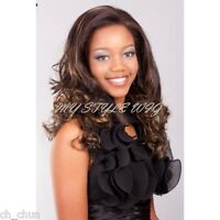 Aplus Ozone Synthetic Lace Round Wig - 104