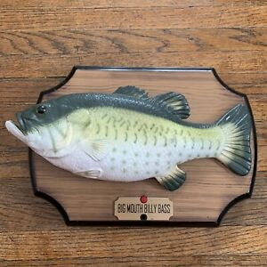 Original-1999-Big-Mouth-Billy-Bass-Singing-Moving-Fish-Gemmy-Industries-Decor