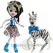 Enchantimals Zelena Zebra Doll & Hoofette FKY75
