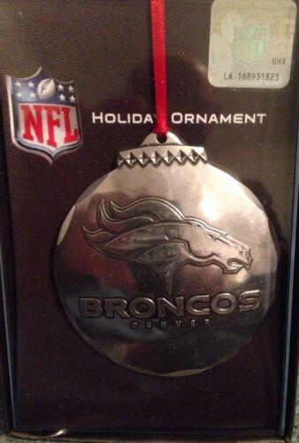 Wendell August Forge Denver Broncos Christmas Ornament