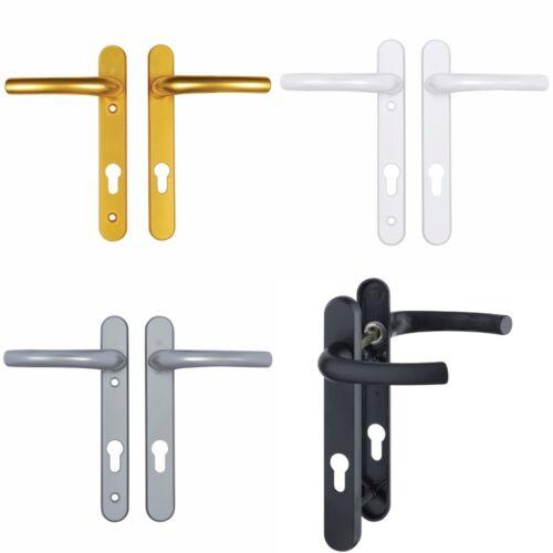 122mm Fixings Composite Door Handles Type A Pair Hoppe Tokyo 92mm Lever Upvc