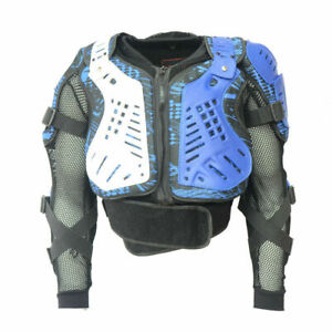 Biker Protector Adults Motocross Enduro MX Body Armour 2021 Jacket Blue