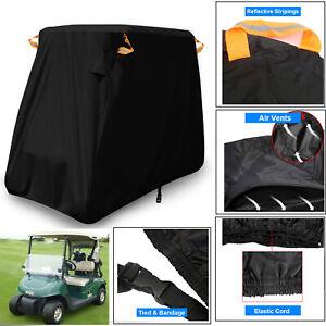 NEVERLAND-2-Passenger-Golf-Cart-Buggy-Storage-Cover-For-Yamaha-EZ-GO-Club-Car
