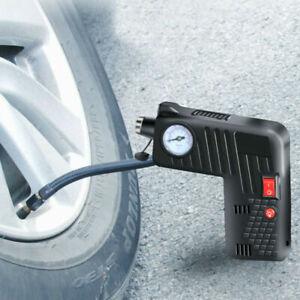 12V-Car-Bike-Portable-Air-Compressor-Tire-Inflators-Durable-Digital-LCD-Pump-New