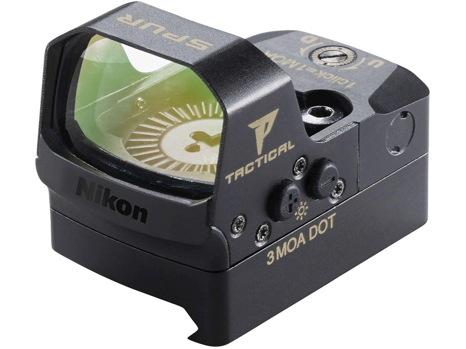 Nikon P-táctico Espuela Visor de punto rojo Rifle Montaje 3 MOA punto Picatinny 16532