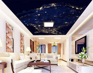 Image Is Loading Occult Rare Stars 3D Ceiling Mural Full Wall