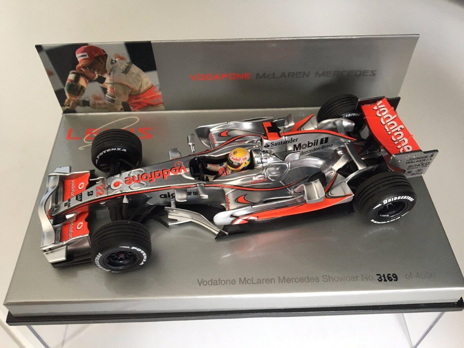 LEWIS HAMILTON - McLaren Mercedes MP 22 - Vodafone Edition - Minichamps 1 43