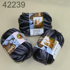 AIPYARN-Sale-3Ballsx50g-Soft-Cotton-Chunky-Super-Bulky-Hand-Knit-Crochet-Yarn-39