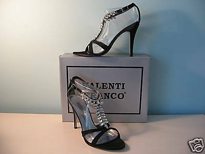 Valenti Franco Solana Womens Shoes $65 NEW Solana Franco Black Diamonds 8 M 99301f