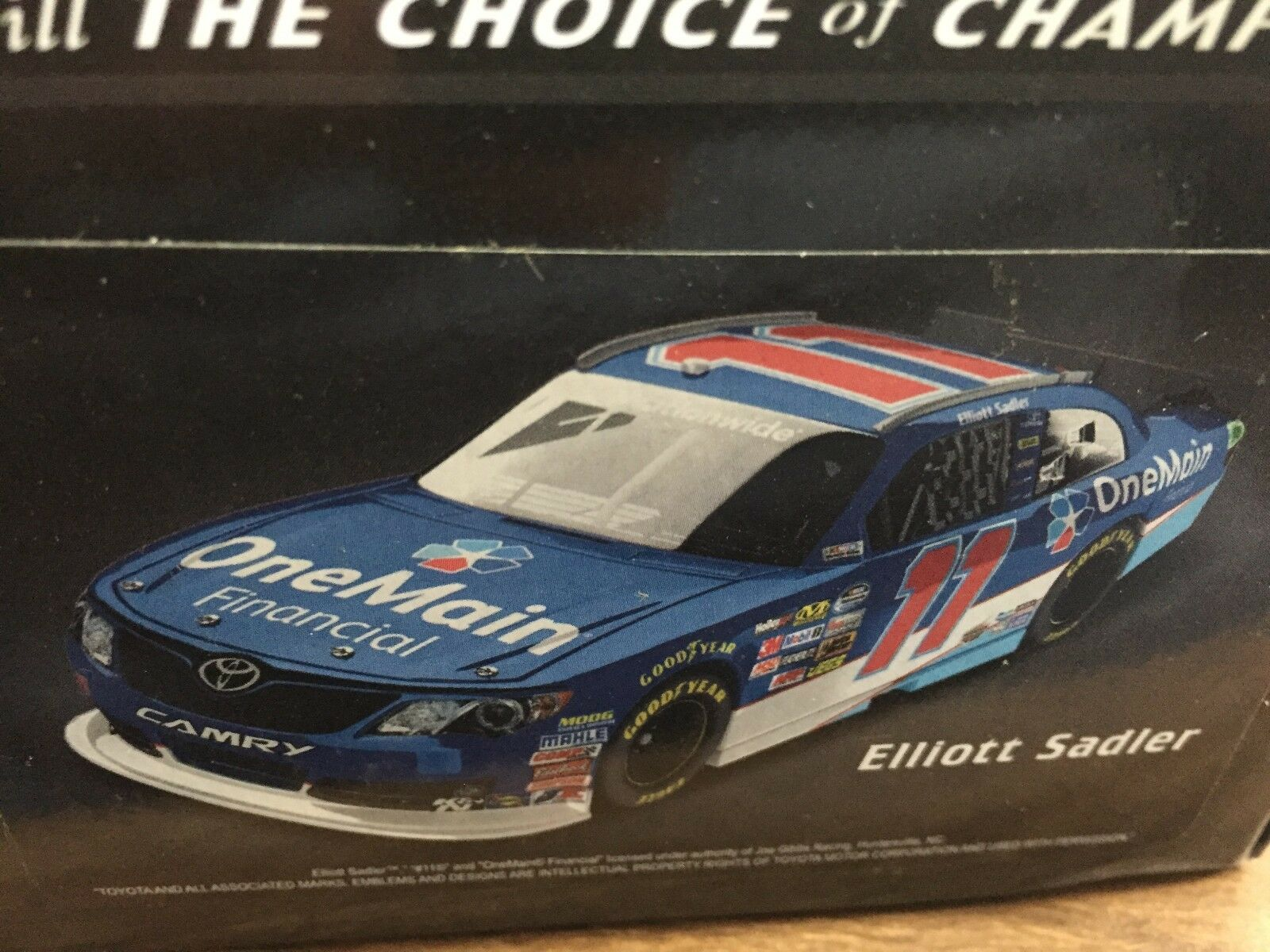 1 24 ACTION Elliott Sadler '13 Camry Camry Camry One Main 1 of 733 99632b