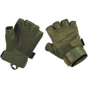 Fingerless Capped Gloves Mens Fleece Mittens Camouflage Camo Army 2 In 1 Combo