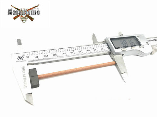 "NEW 1//6 Scale WWII German LongSolid Wood Handle Metal Square Hammer F 12/"" Figure"