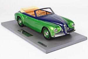 Alfa Romeo 6c 2500 Gt Touring Spider Cabrio Villa D'este 1951 Bbr 1:18 Blm1807d