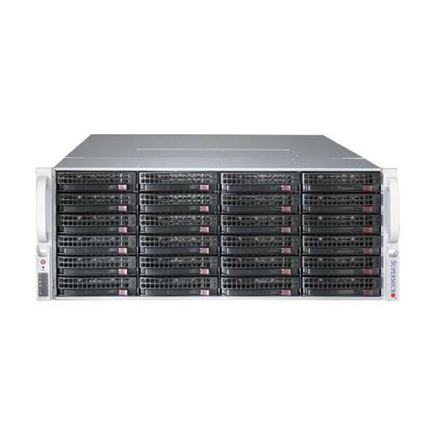Supermicro SuperChassis CSE-847BE1C-R1K28LPB 1280W 4U Rackmount Server Chassis