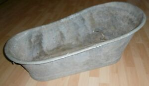Vasca Da Bagno Di Zinco : Zincato bambini bagno per zinco alt zincato vasca top vintage