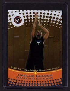 2002-03-Topps-Pristine-121-Carlos-Boozer-Rookie-Card-1499-Cavaliers-Duke-MT