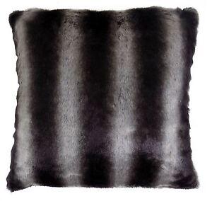 2f7021ec18 La imagen se está cargando Relleno-Negro-Lobo-Blanco-Imitacion-Piel -Animal-Grueso-