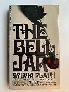 The Bell Jar by Sylvia Plath, 1st Bantam Edition / 3rd Printing, 1972, Rare