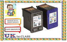 Remanufactured 56 &57 High Capacity& Quality Inkjet Cartridges for hp printer