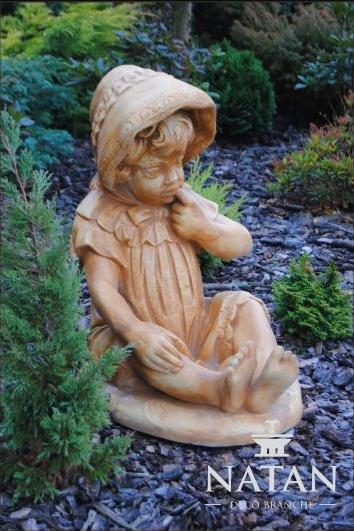 Garten Dekoration Baby Terrasse Stein Statue Figuren Figur Deko Statue Skulptur