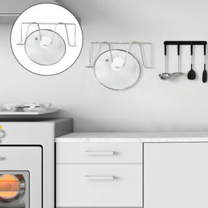 Stainless-Steel-Lid-Pot-Holder-Plate-Rack-Wall-Mount-for-Kitchen-Storage