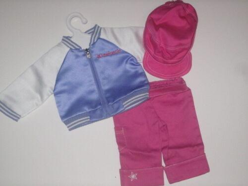 American Girl Innerstar U Jacket Cap /& Capri/'s  for Dolls ~ NEW