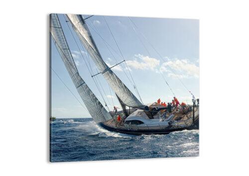 BILD LEINWAND Wandbild Segelschiff Meer 4032 DE
